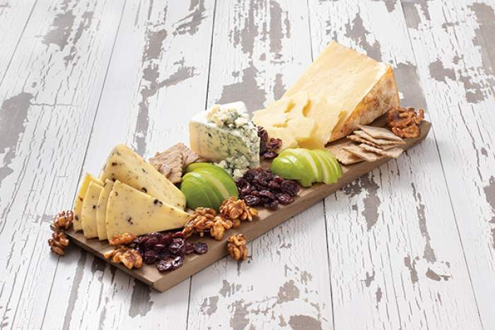 Red, White and Blue Cheese Board