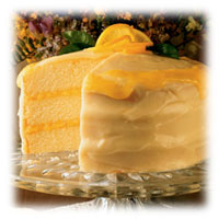 Mile High Buttermilk Cake